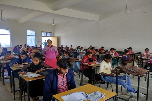 Class Room With Desired Standard & Facilities